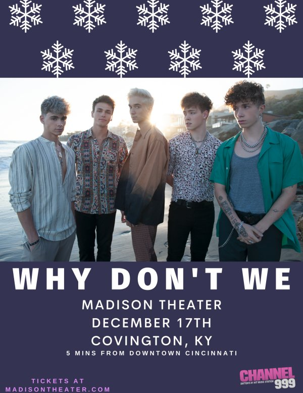 None - WHY DON'T WE Tickets & Meet & Greet Passes Giveaway!