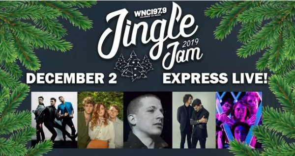 None - Jingle Jam in Columbus starring Charlie Puth Giveaway!