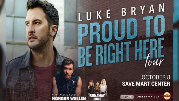 None - Luke Bryan At The Save Mart Center!