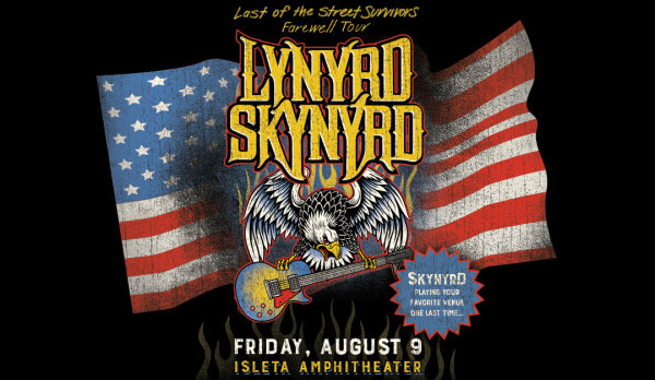 Win Tickets To Lynyrd Skynyrd at The Isleta Amphitheater!