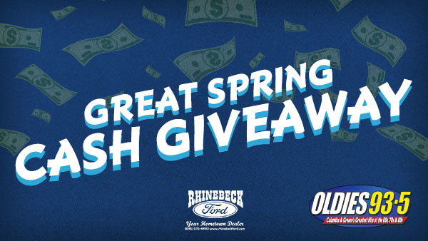 None - Great Spring Cash Giveaway