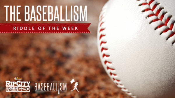 None - Take A Swing at The Baseballism Riddle of the Week