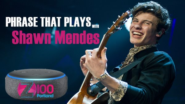 None - Win an Amazon Echo Dot and Qualify For a Trip To See Shawn Mendes!