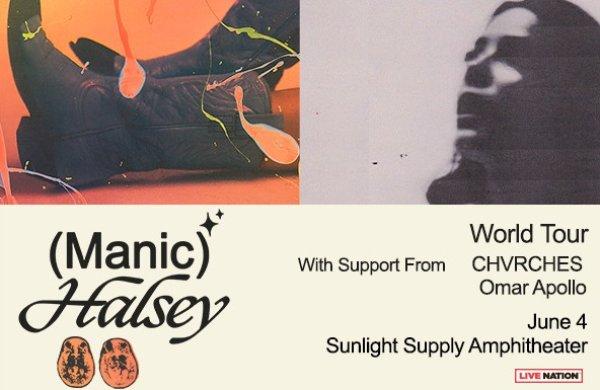 None - Halsey - 6/4 @ Sunlight Supply Amphitheater