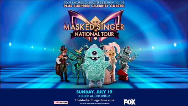 image for The Masked Singer Live - 7/19 @ Keller Auditorium