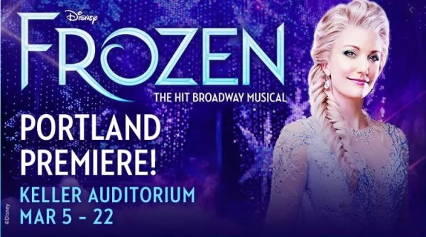 image for Disney's FROZEN (Broadway Musical)