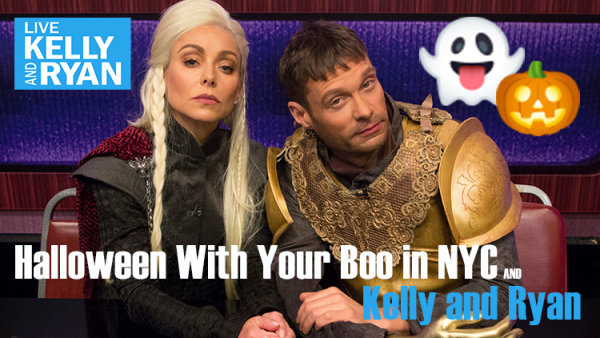 None - Spend Halloween with Your Boo in NYC and Kelly & Ryan!