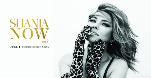 Shania Twain NOW TOUR Sweepstakes