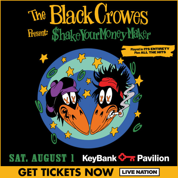 None - Win ticket to see The Black Crowes!