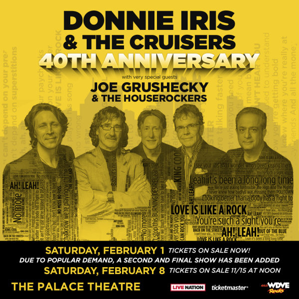 None - Donnie Iris Tickets!