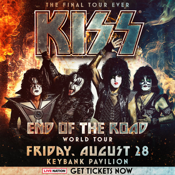 None - Win ticket to see KISS!