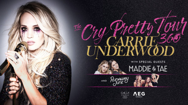 None -  Carrie Underwood - The Cry Pretty Tour - 5/21/19 @ Moda Center
