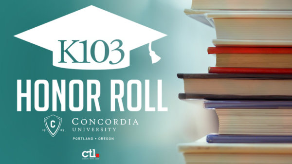 None - K103 Honor Roll Submission