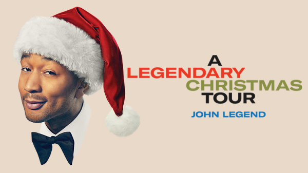 None -   John Legend A Legendary Christmas - Dec. 19th @ Arlene Schnitzer Concert Hall