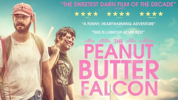 None - THE PEANUT BUTTER FALCON on Blu-ray