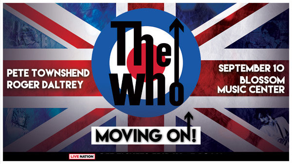 None - See THE WHO at Blossom on September 10th