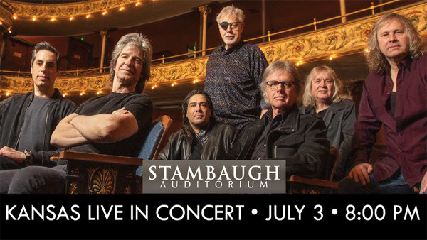 None - See KANSAS at Stambaugh Auditorium