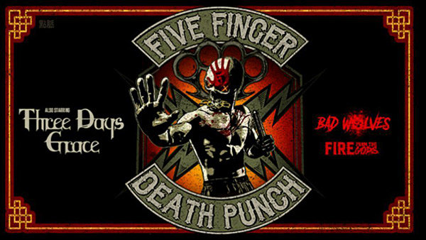 None - Five Finger Death Punch @ Covelli Centre!