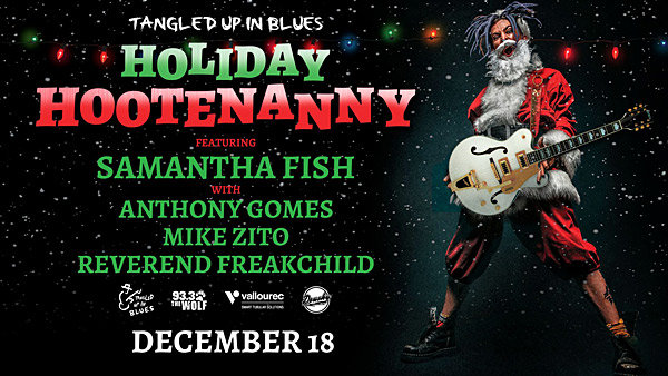 None - Tickets to Tangled Up In Blues Holiday Hootenanny!