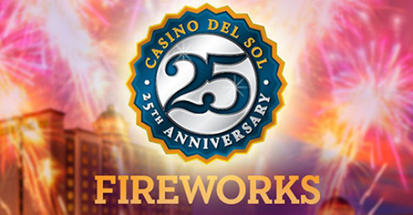 None - Win Tickets to 25th Anniversary Fireworks Celebration