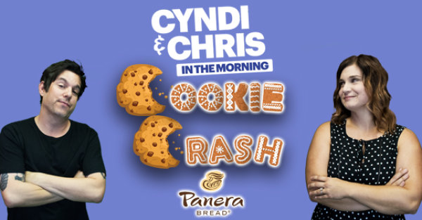 None - Sign Up Your Office To Win A Cyndi & Chris in the Morning Cookie Crash!