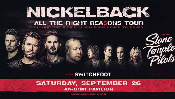 None - Win tickets to see Nickelback