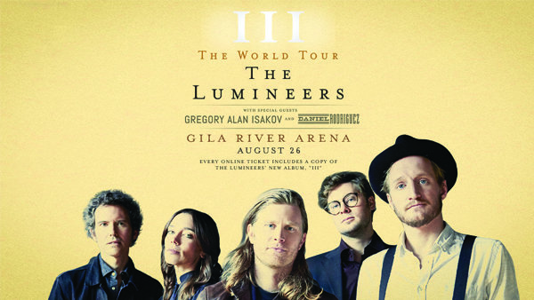 None - Win tickets to see The Lumineers