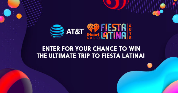 None - Enter for Your Chance to Win the Ultimate Trip to Fiesta Latina Thanks to AT&T!