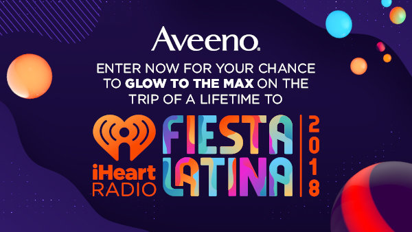 None -  Enter Daily for Your Chance to Glow to the Max at iHeartRadio's Fiesta Latina!