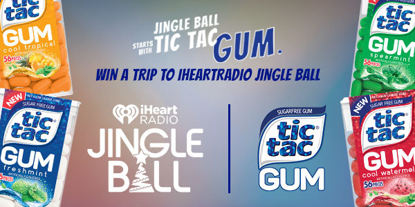 None -    Enter For Your Chance to Win a Trip to iHeartRadio's Jingle Ball in NYC!