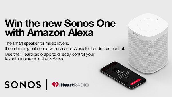 None - Win the new Sonos One with Amazon Alexa
