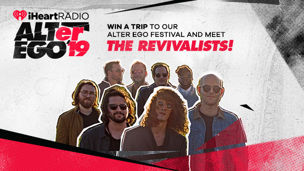 None -   Win A Trip To Our ALTer EGO Festival And Meet The Revivalists!