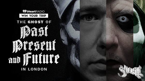 None - The GHOST of PAST, PRESENT & FUTURE in LONDON!