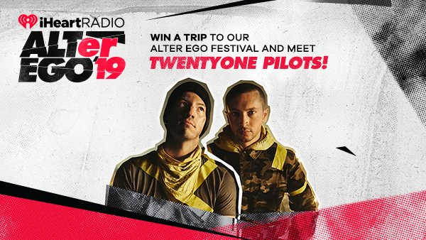 None - Win A Trip To Our ALTer Ego Festival And Meet twentyone pilots!