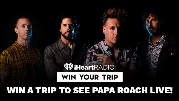 None - Win A Trip To See Papa Roach Live!