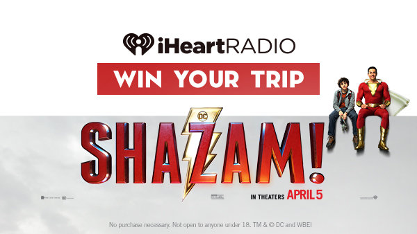 None -  Win A Trip To LA For An Exclusive, Advance Screening Of SHAZAM!