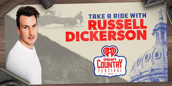 None -    Hang Out With Russell Dickerson At Our iHeartCountry Festival!