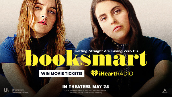 None -   Enter For A Chance To Win 2x Movie Tickets To See Booksmart, Courtesy Of Fandango!