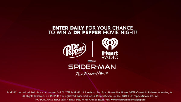 None -  Enter Daily For Your Chance To Win A Dr Pepper Movie Night!