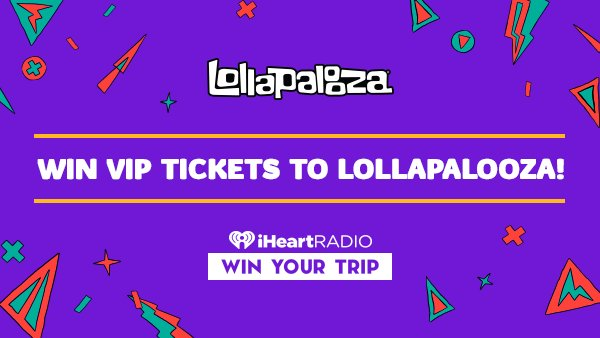 None - Win VIP Tickets To Lollapalooza!