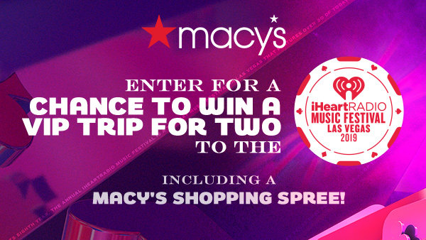 None - Enter for a chance to win a VIP trip for two to the iHeartRadio Music Festival!
