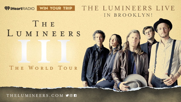 None - Win A Trip To See The Lumineers