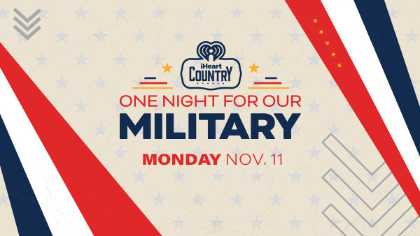 None - Nominate Your Favorite Veteran For A Trip To Nashville To Attend iHeartCountry One Night for Our Military