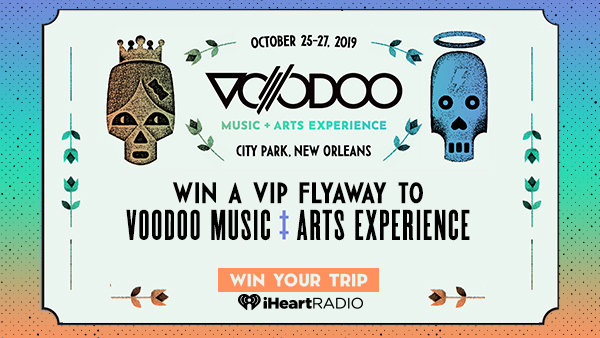 None - WIN VIP TICKETS TO VOODOO MUSIC + ARTS EXPERIENCE IN NEW ORLEANS!