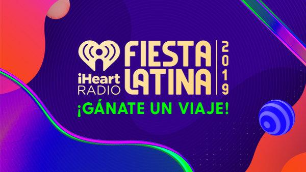 None - ¡Escucha y gánate un viaje VIP a nuestro iHeartRadio Fiesta Latina!