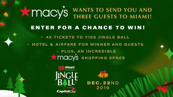None - Macy's Wants To Send You And Three Guests To Miami!