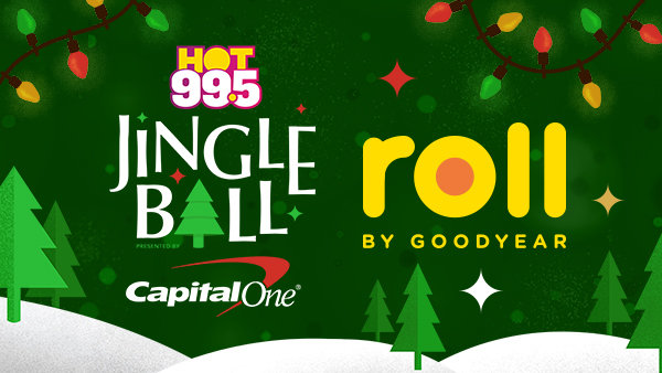 None - Roll by Goodyear Wants To Send You And A Guest To HOT 99.5's Jingle Ball!