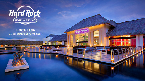 None - Enter Now For Your Chance To Win A Vacation For Two To Hard Rock Hotel & Casino Punta Cana!