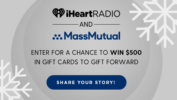 None - Enter for a chance to win $500 in gift cards to thank those along the way!