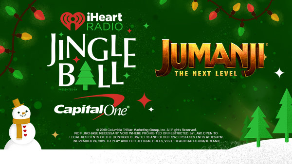 None - Enter For A Chance To Win A Jingle Ball Adventure Of Your Choice!
